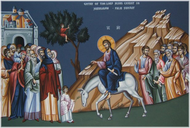 Christ's entry into Jerusalem