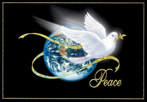 peace dove gold