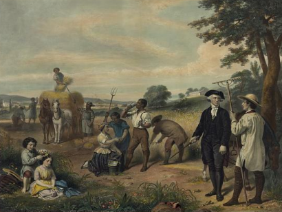 washington owned slaves