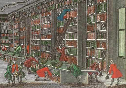 library from 1800s