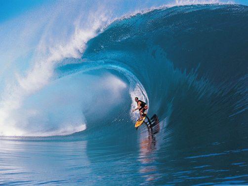 surfer in australia