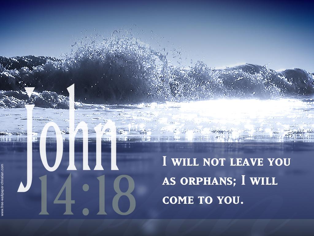 john 14 18 beautiful verse