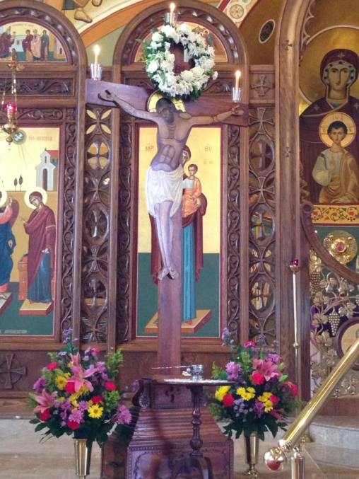 Christ crucified Annunciation GOC