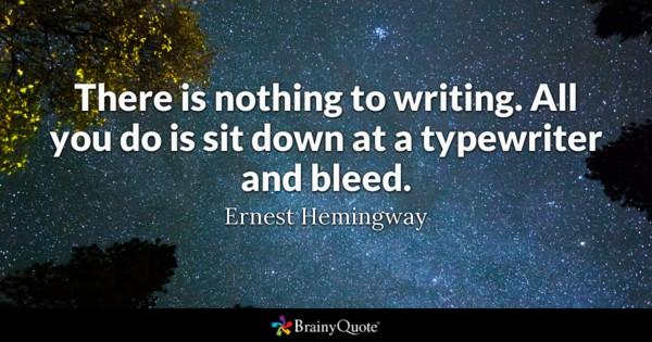 hemingway quote 1