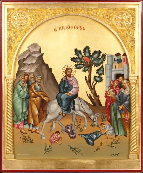 palm sunday icon 1