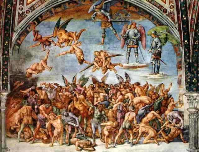 Oil-painting-The-Hell-Fresco