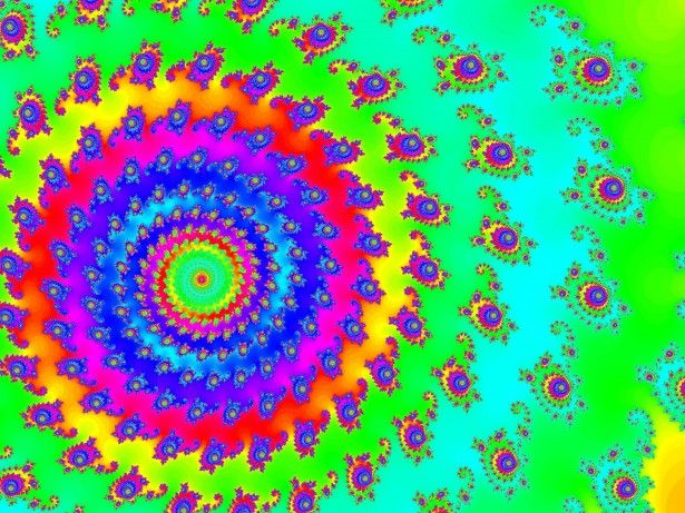 colored fractal