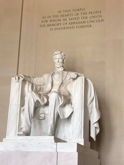 Lincoln Memorial July 6 2018