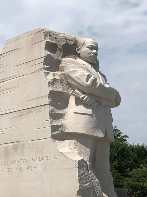 MLK Monument July 6 2018