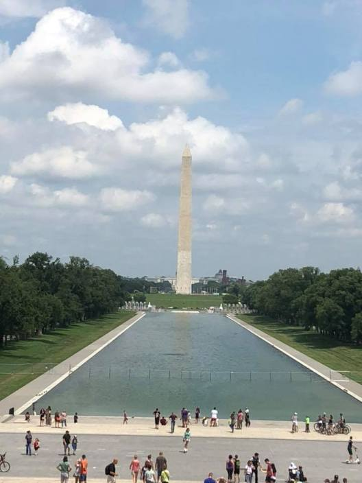 Washington Monument July 6 2018