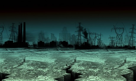 dark, collapse of world pic
