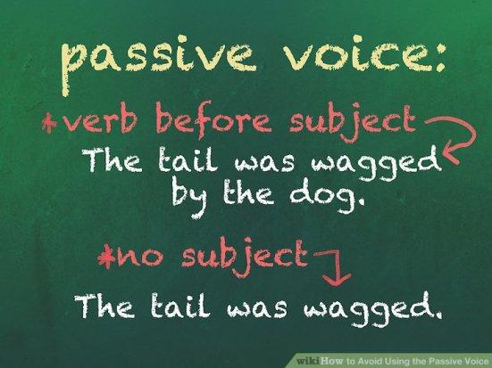 passive voice ex