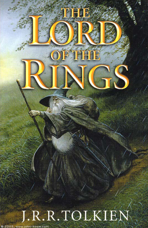 lord of the rings wizard book cover