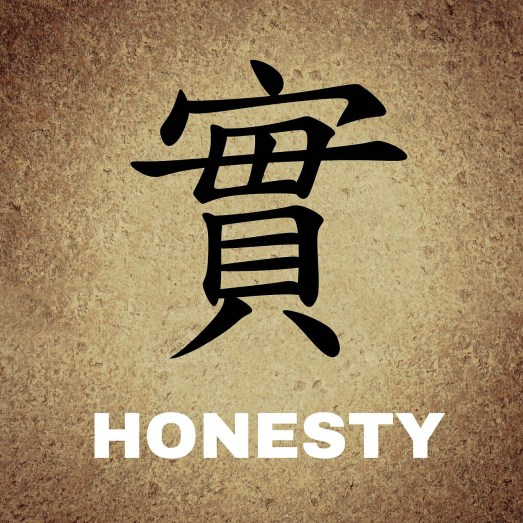 honesty in chinese