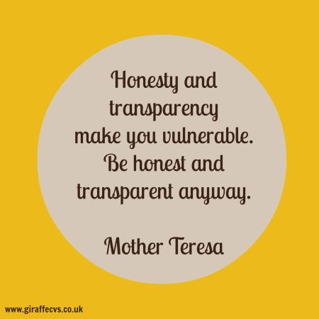 mother teresa quote on honesty