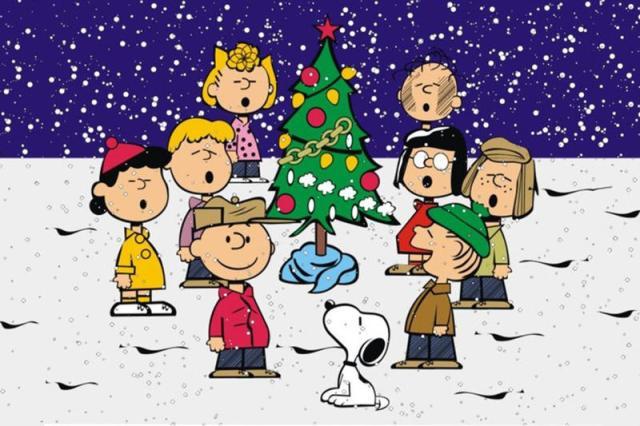 peanuts singing christmas carols