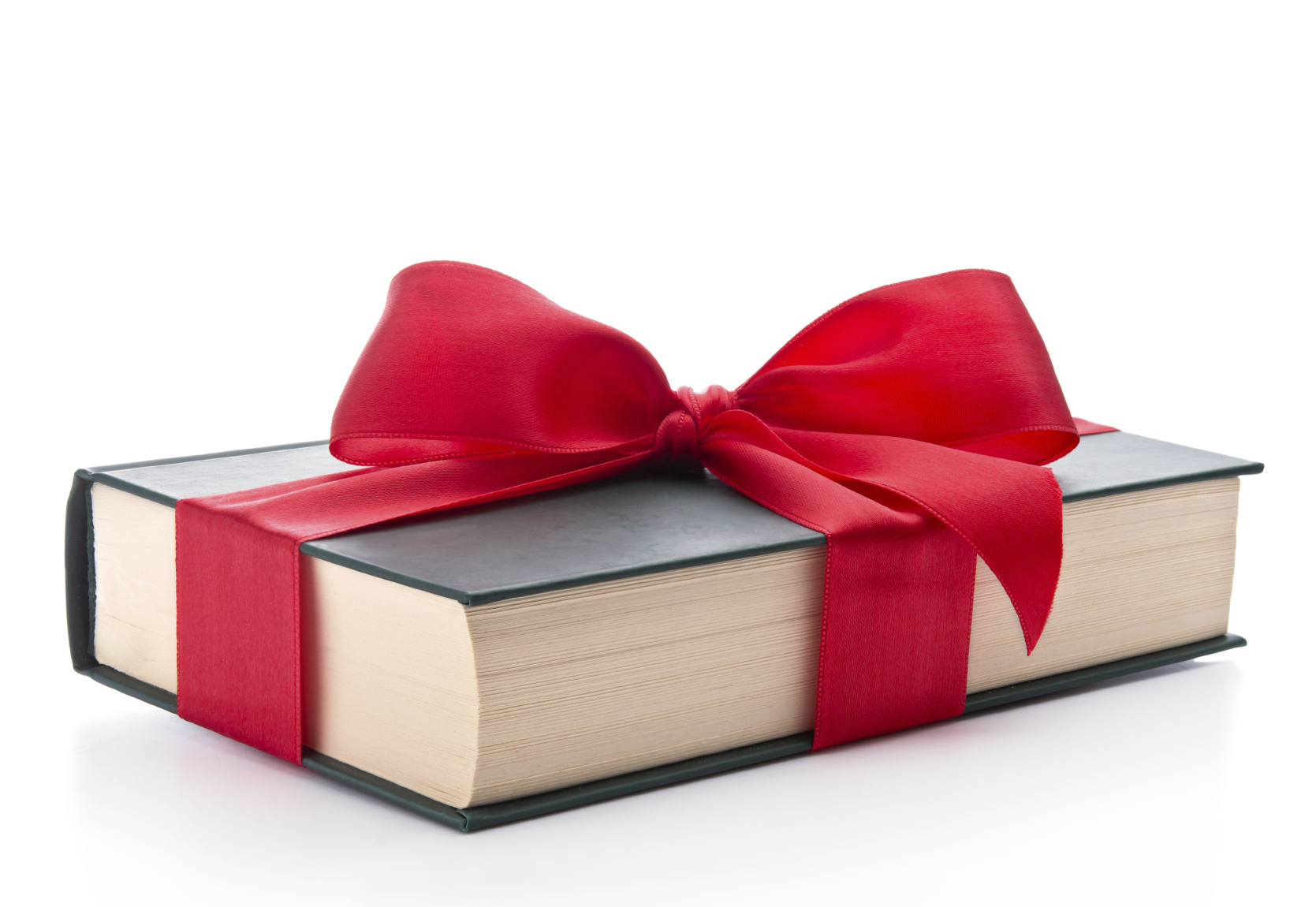 Gift wrapped book