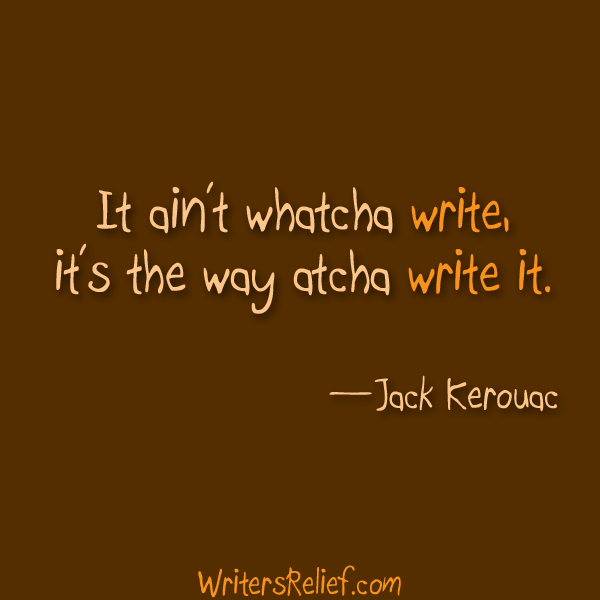 how you write matters