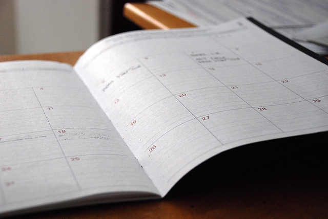calendar and daily planner