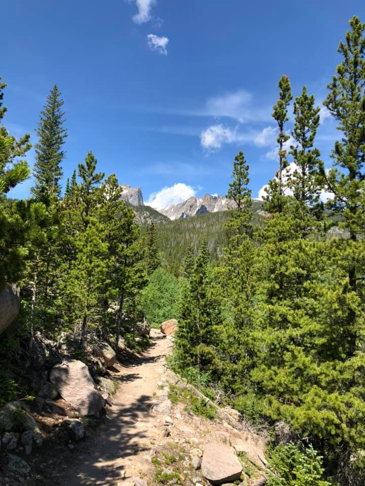 hiking trail from storm pass to bear lake day 4 July 2019