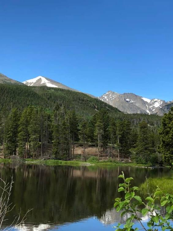 Sprague Lake in RMNP July 4 2019