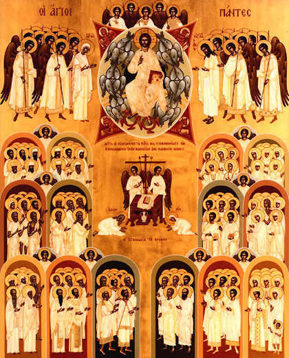all saints orthodox icon