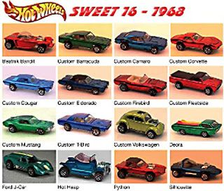 hot wheels 1968