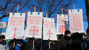 march for life orthodox christians