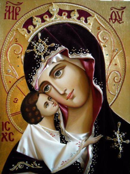 Theotokos & baby Jesus