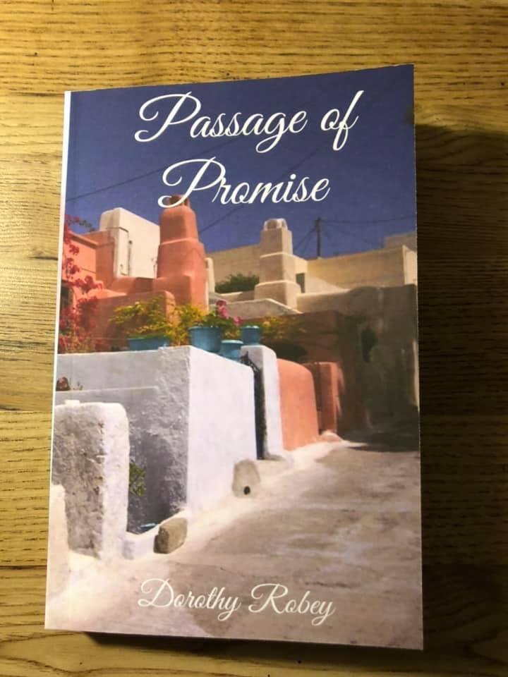 My book Passage of Promise arrive evening April 1 2020