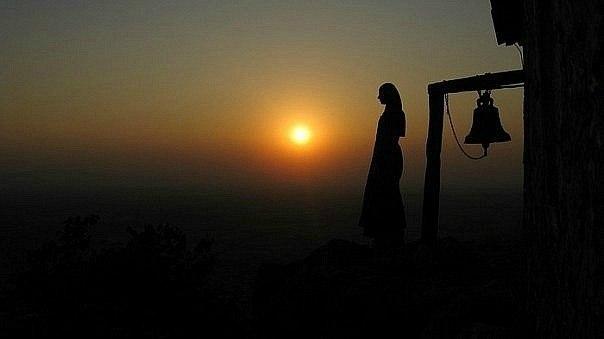 Orthodox Jesus Prayer sunset